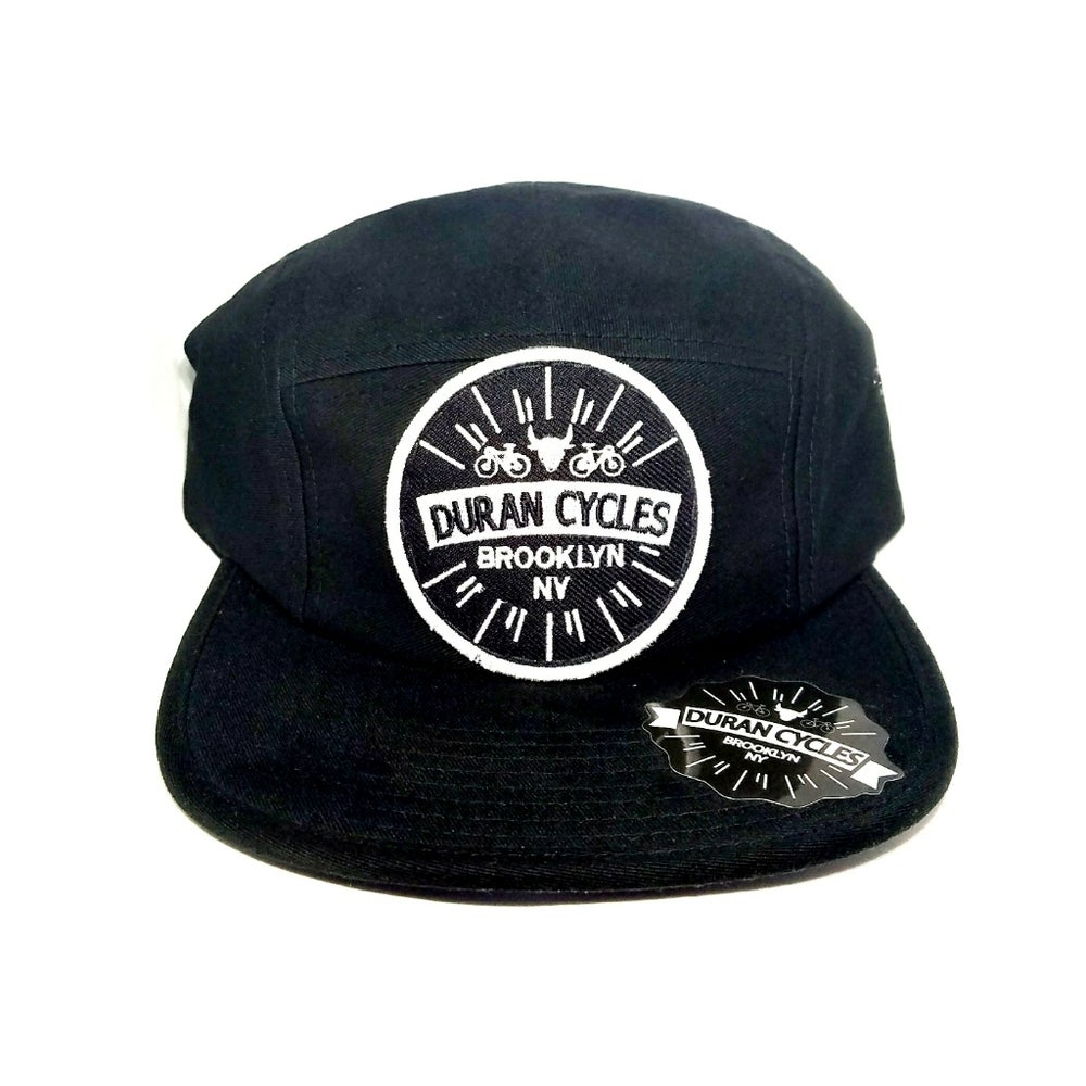 Image of Duran cycles 5 panel cap