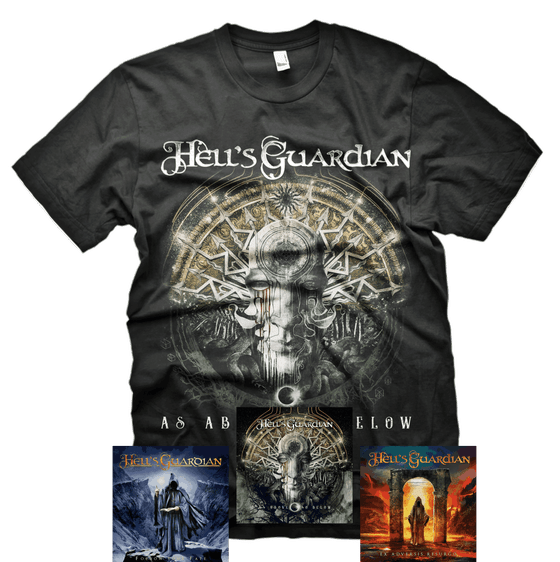 Image of HG FULL BUNDLE - T-SHIRT + 2 ALBUMS + 1 EP