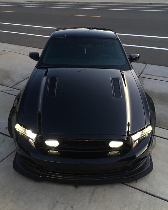 Image of 2013-2014 Mustang GT/CS and Boss 302 Front Lip Splitter