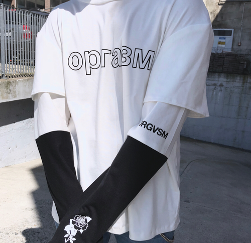 Image of ОРГАЗМ LONG SLEEVE ''WHITE VERSION''
