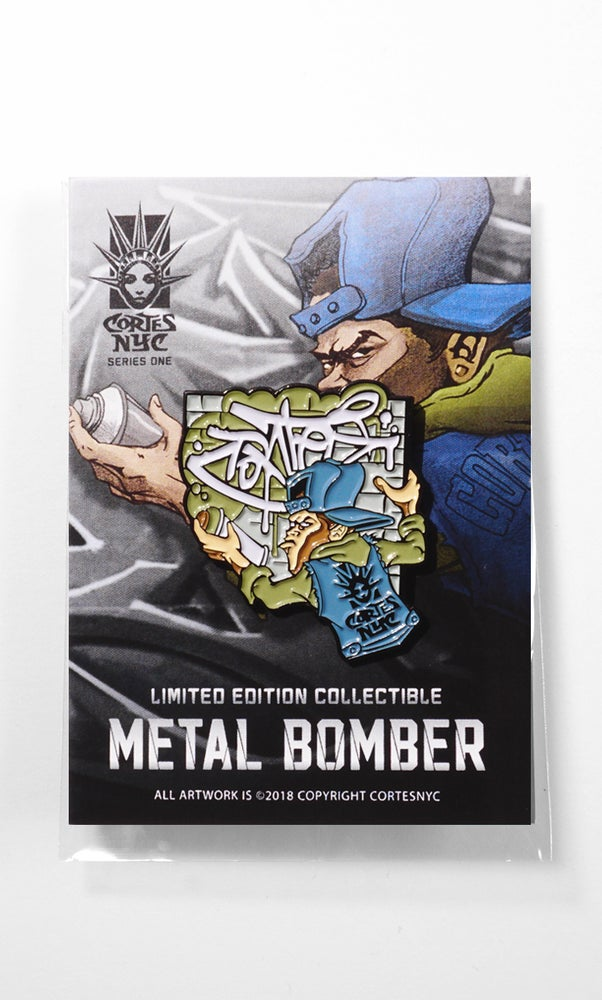 Image of Metal Bomber (pin)