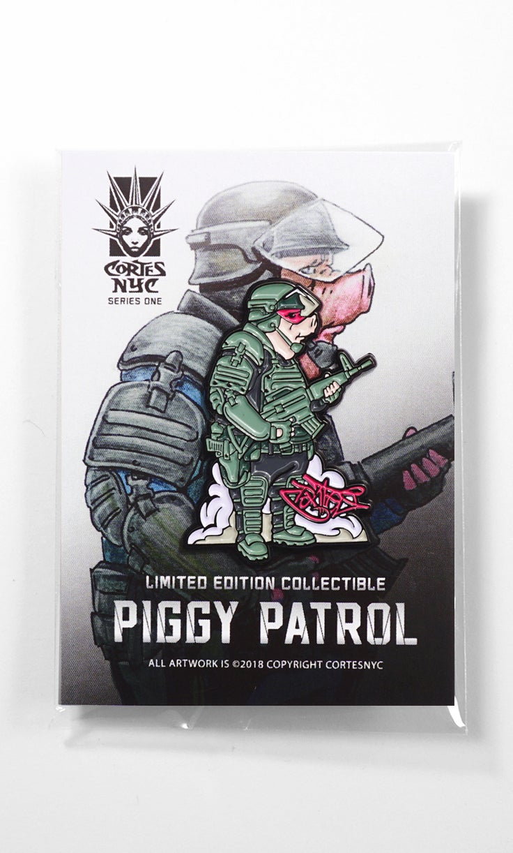 Image of Piggy Patrol (pin)