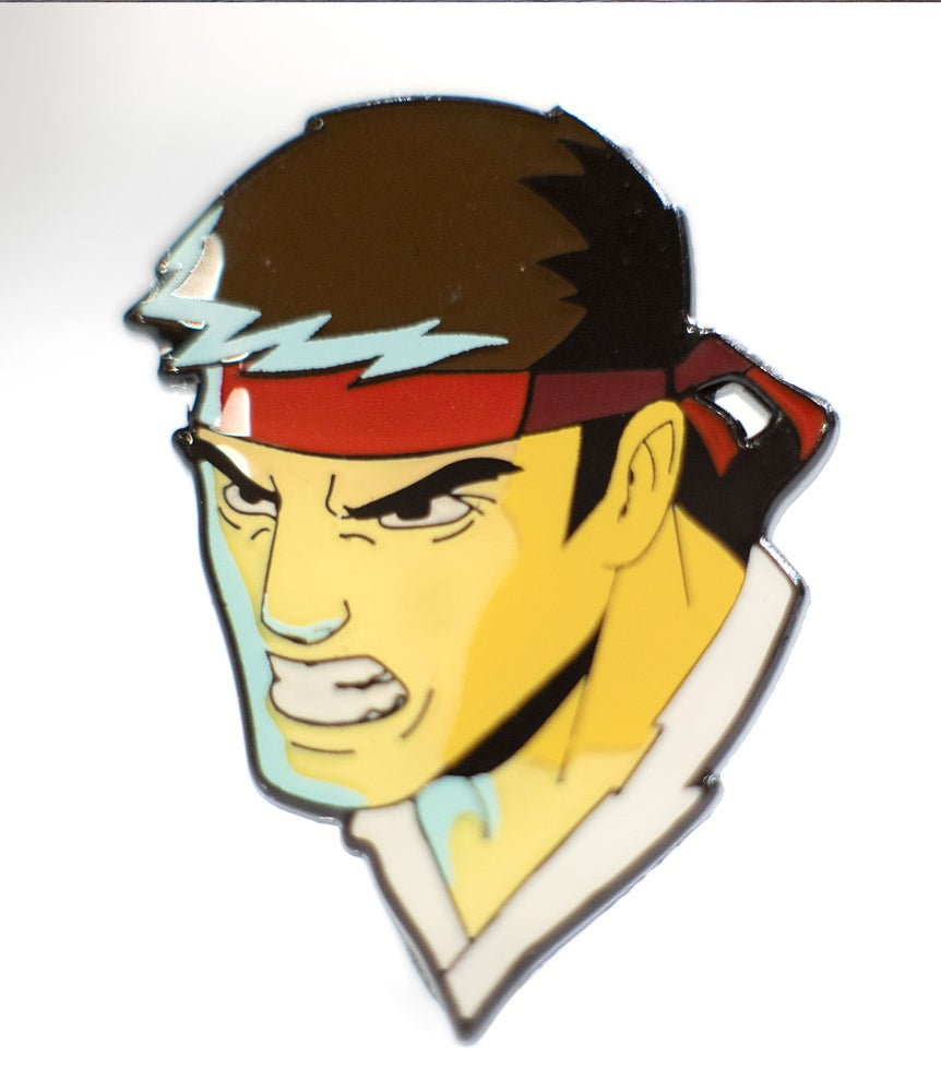 Image of Ryu Enamel Pin