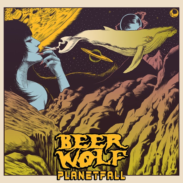 Image of Beerwolf - Planetfall CD