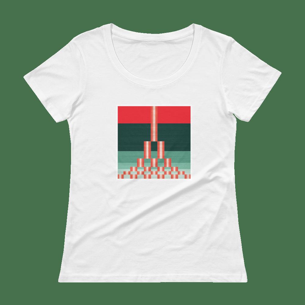 Image of Estuary Ladies' T-Shirt - WHITE