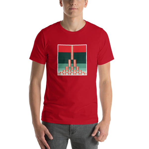 Image of Estuary Men's T-Shirt - RED