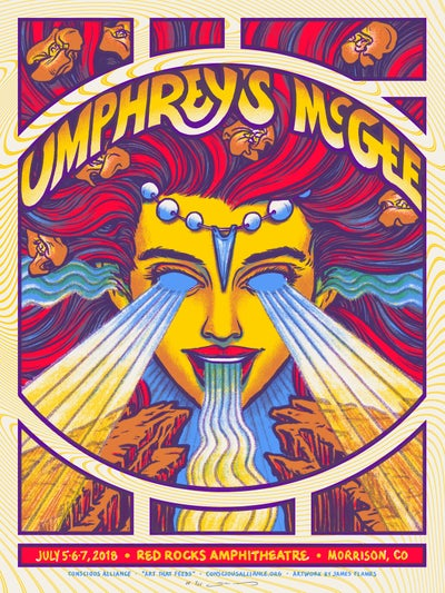 Image of Umphrey's McGee - Red Rocks 2018