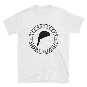 Image of Lil Mattress Circle Logo T-Shirt