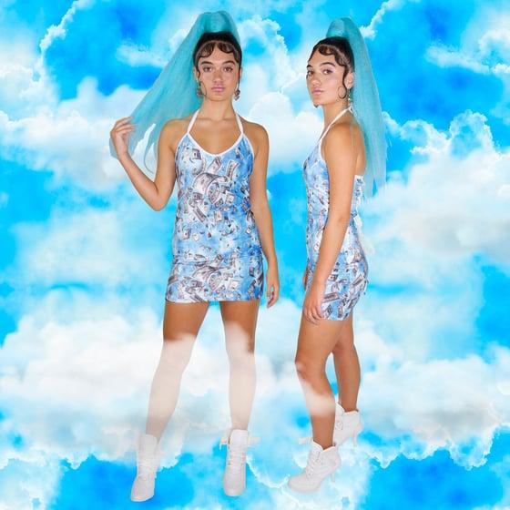 Image of Fallen Money Sparkle Dress
