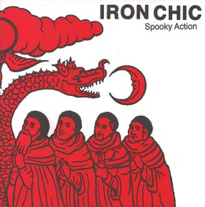 """Image of Iron Chic - Spooky Action 7"""" RED Vinyl"""