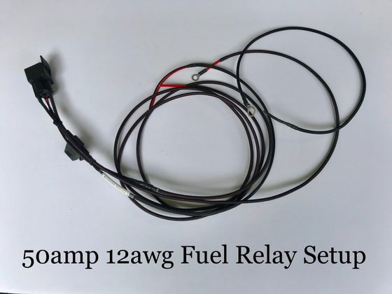 Image of Sparkks Racing 12 Gauge AWG HD Fuel Pump Relay Wiring Kit Universal Honda Acura