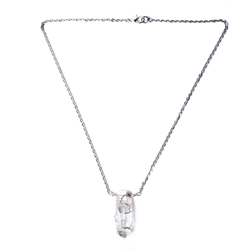 Image of Big Quartz Necklace