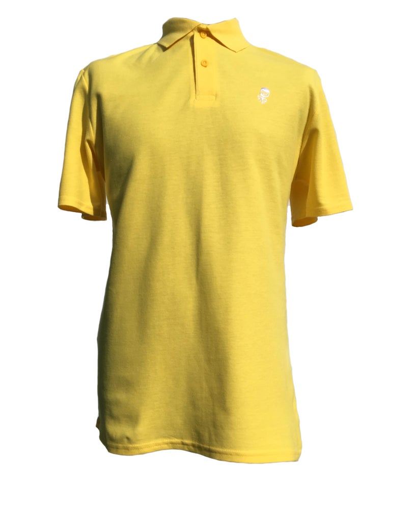 Image of Dwayne Polo Shirt - Yellow