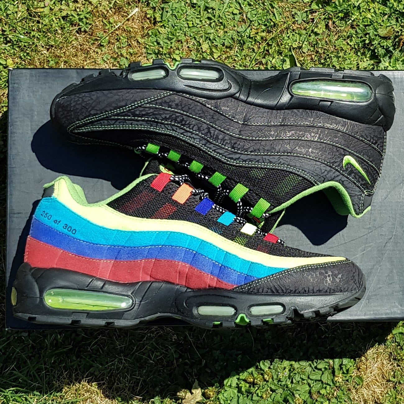 best sneakers 28b90 92bbb 2006 Nike Air Max 95 Sole Collector Cowboy Special - UK 11