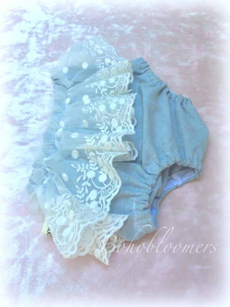 Image of Chambray and Ruffles