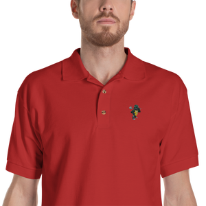 "Image of Tortoise ""Army Logo"" Polo (Assorted Colors)"