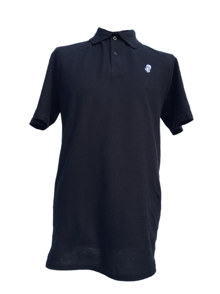 Image of Dwayne Polo Shirt - Black - LAST ONE SMALL