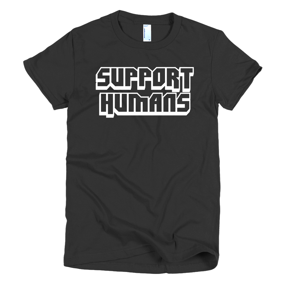 Image of Support Humans - Black