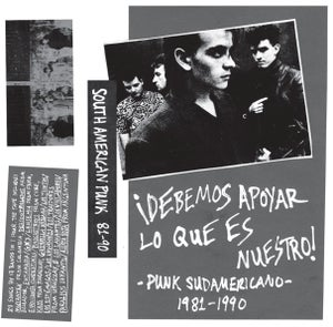Image of SOLD OUT - SOUTH AMERICAN PUNK/POST-PUNK Mix Tape 1981-1990