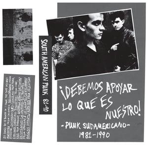 Image of SOUTH AMERICAN PUNK/POST-PUNK Mix Tape 1981-1990