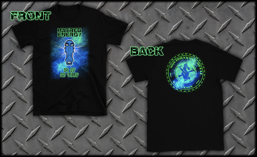 "Image of SquidHedz Exclusive ""Hatred Energy"" T-Shirt"