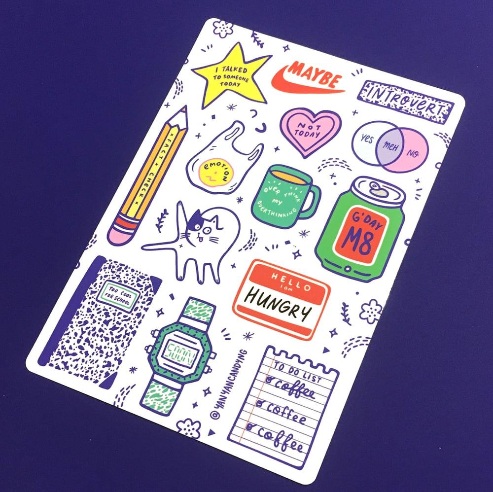 Image of Sticker Sheet