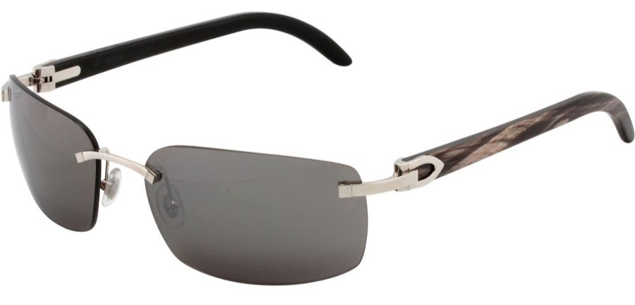 74f986b1dc WHITE   BLACK BUFFALO HORNS CARTIER SUNGLASSES   BuffsInTheD