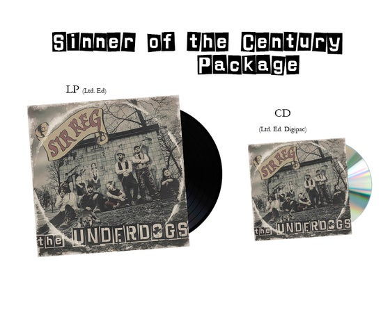 Image of SIR REG - Sinner of the Century Package (LP, CD)