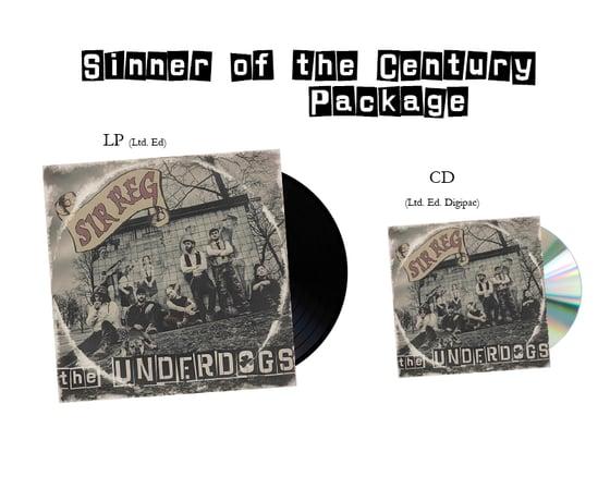 Image of SIR REG - Sinner of the Century Package (LP, CD)