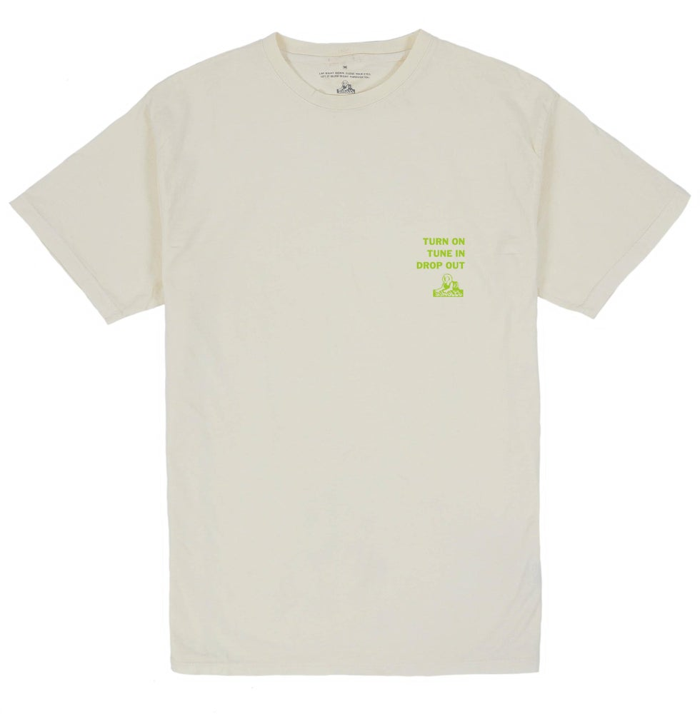 Image of JUNGLESJUNGLES - TUNE IN DROP OUT S/S TEE