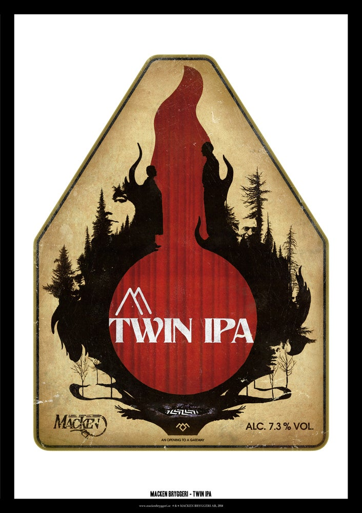 Image of Twin IPA Poster