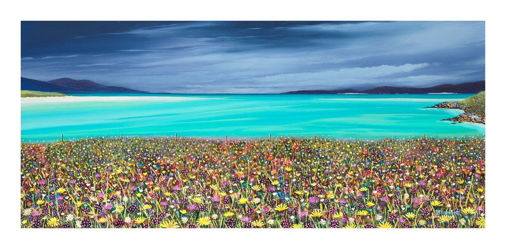 Image of Luskentyre greys print ALL SIZES