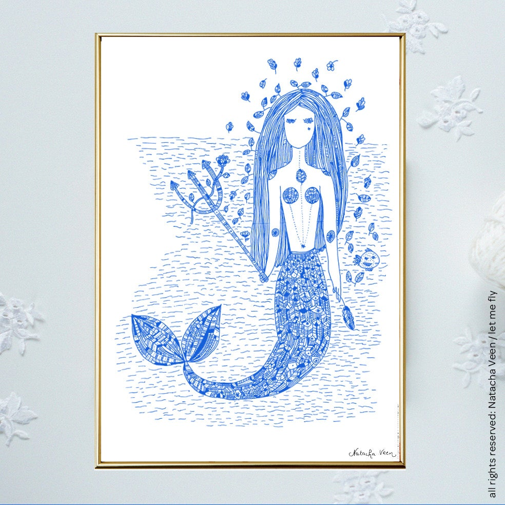 Image of *Mermaid*_A4