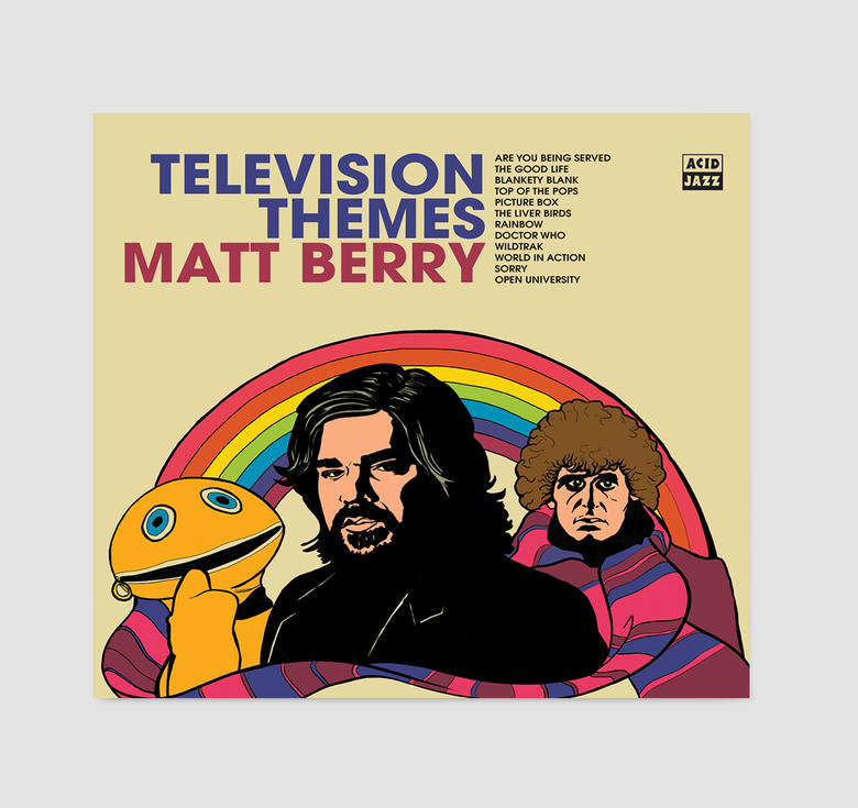 Image of Matt Berry - Television Themes (Signed CD)