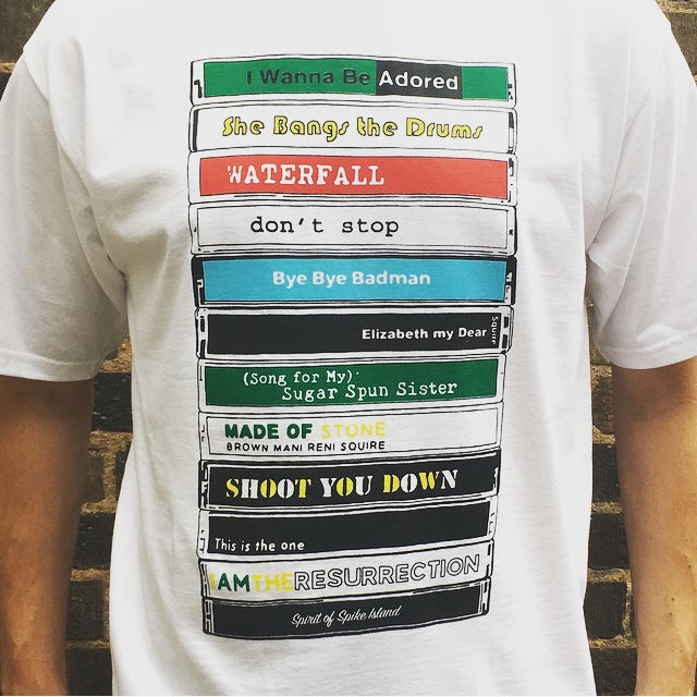 Image of THE STONE ROSES / CASSETTE TEE