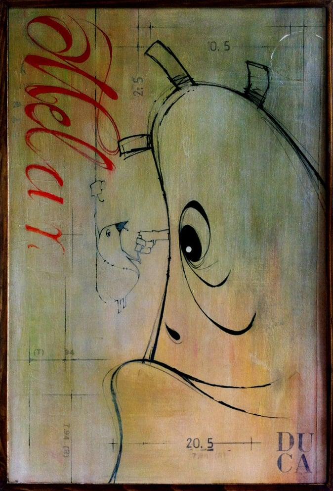 Image of Oliver&Melanzasca ED. GICLÈES - 20x30cm