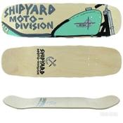 Image of Shipyard Skates JESSE IRISH Moto Division deck