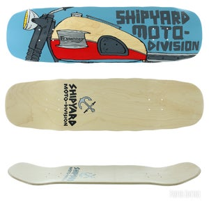 Image of Shipyard Skate RAY FENNESSEY Moto Division deck