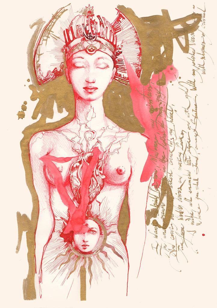 La Vierge Rouge
