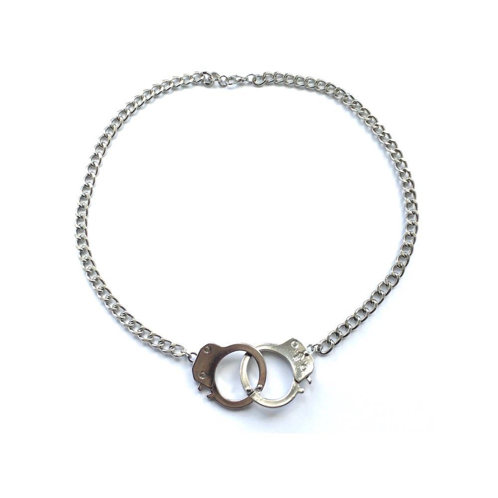 Image of In Chains handcuff necklace