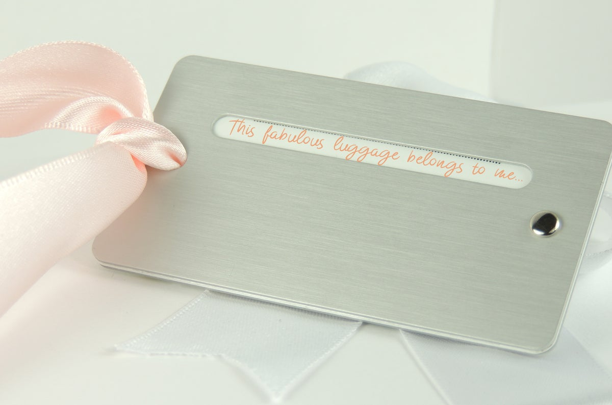 Image of Iced Gem Personalised Luggage/Bottle Tag