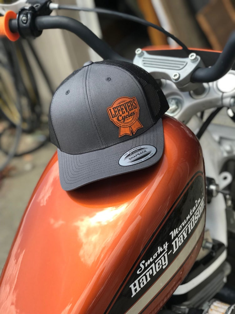 Image of Charcoal and Black SnapBack