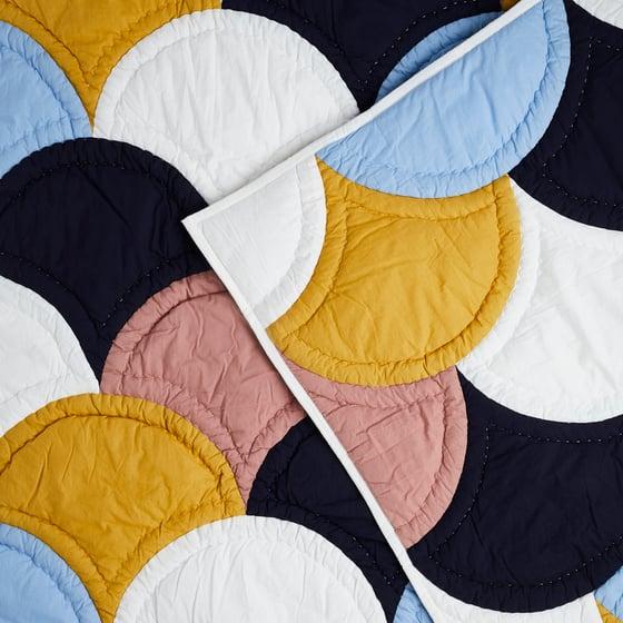 Image of K o s k i patchwork blanket