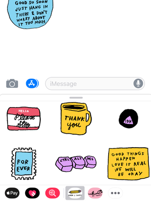 Image of ADAMJK Collection iMessage Stickers