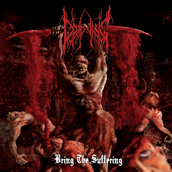 "Image of Dripping "" Bring The Suffering "" CD"