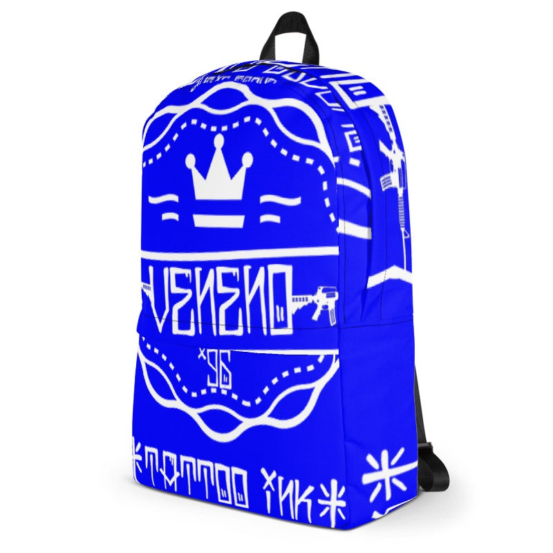 Image of Venom Royal Blue BackPack *COLLECTORS EDITION*