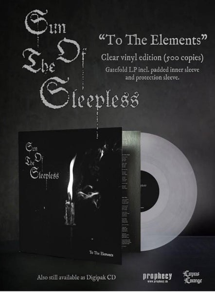 """Image of Sun Of The Sleepless - Clear Vinyl """"To The Elements"""""""