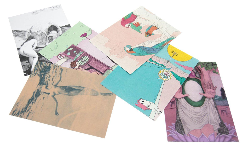 Image of Animal Postcard Kit