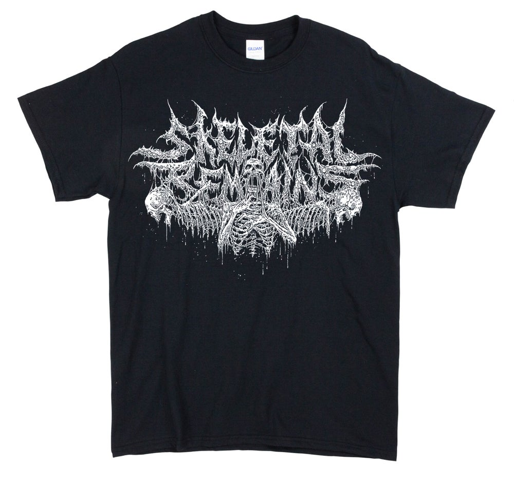 Image of Skeletal Remains Logo T Shirt