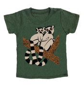 Image of KIDS - Lemurs - Forest Green